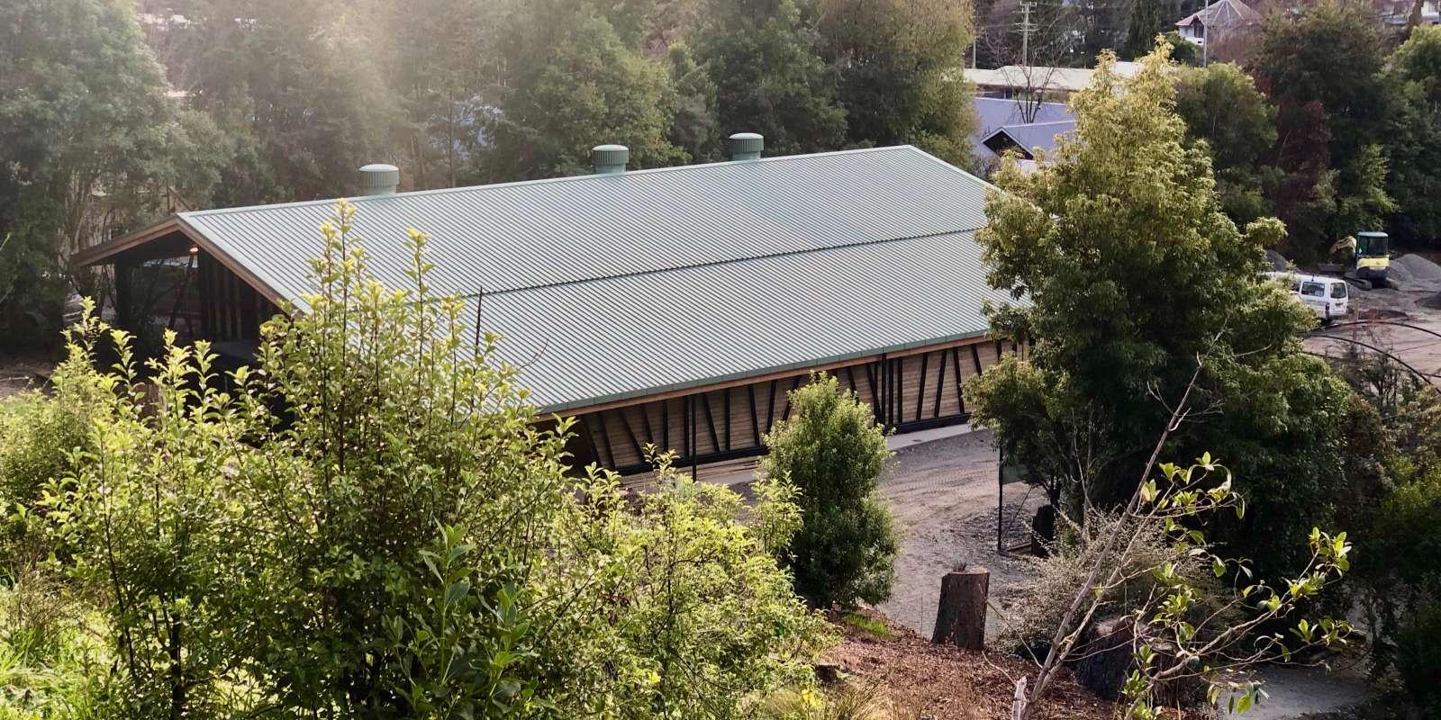 The new Kiwi house at Kiwi Birdlife Park