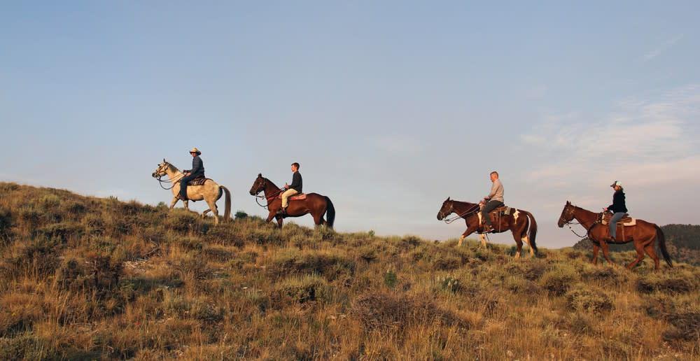horseback ride utah