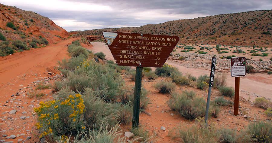 Poison Spring Utah