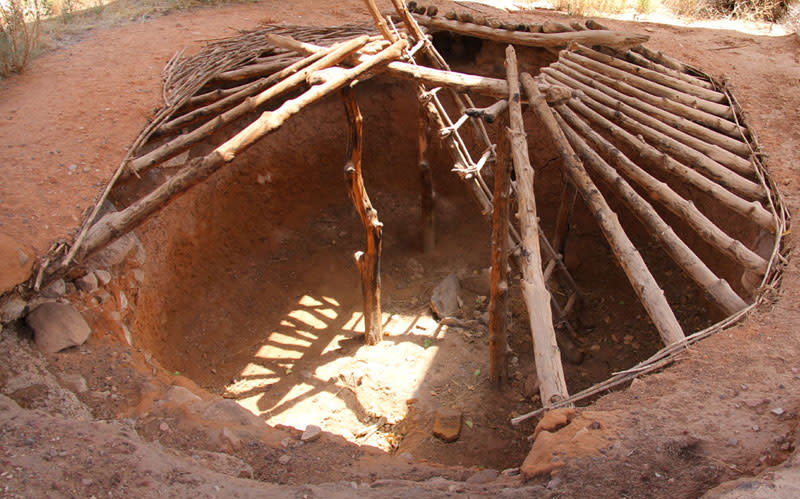 Anasazi Pit House