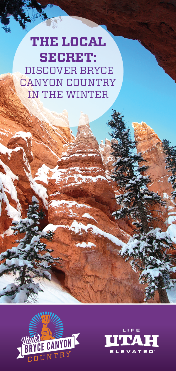 Locals will tell you the secret to travel in Bryce Canyon Country is to come in the winter where there are no crowds.