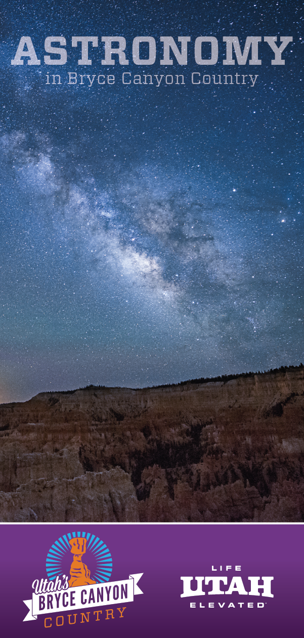 Enjoy the stunning, diamond studded night sky at Bryce Canyon National Park, a certified International Dark Sky Park.