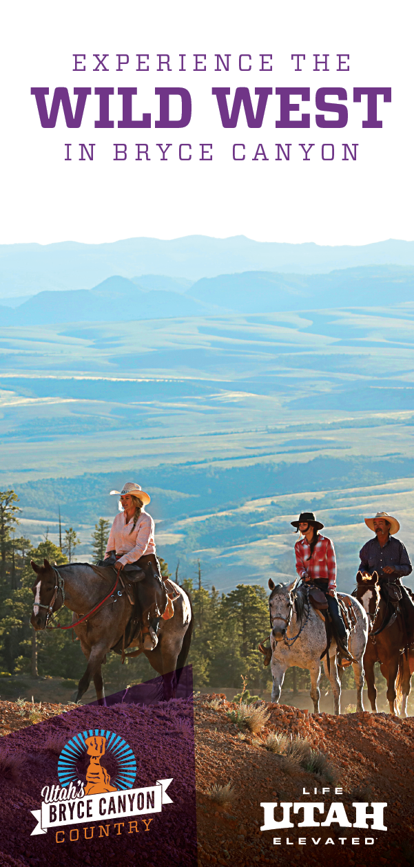 Step into the wild west. Stay at the Rockin' R Ranch. Eat at a cowboy cookout. Immersive yourself in Bryce Canyon Country.