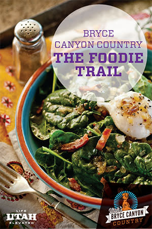 Enjoy food in a restaurant or on the patio overlooking the canyon scenery. Take food on-the-go too so you can travel and drive all over Bryce Canyon Country.