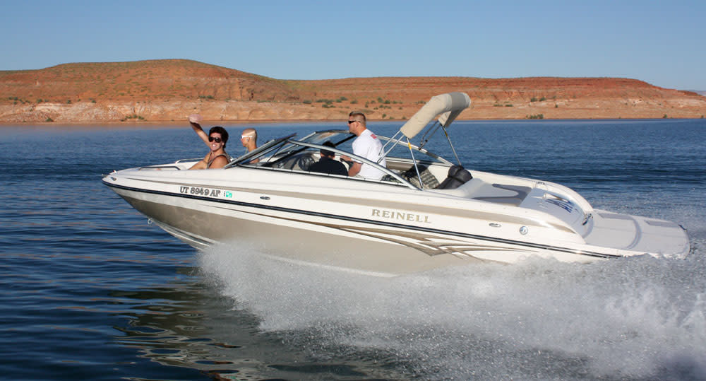 Lake Powell boaters