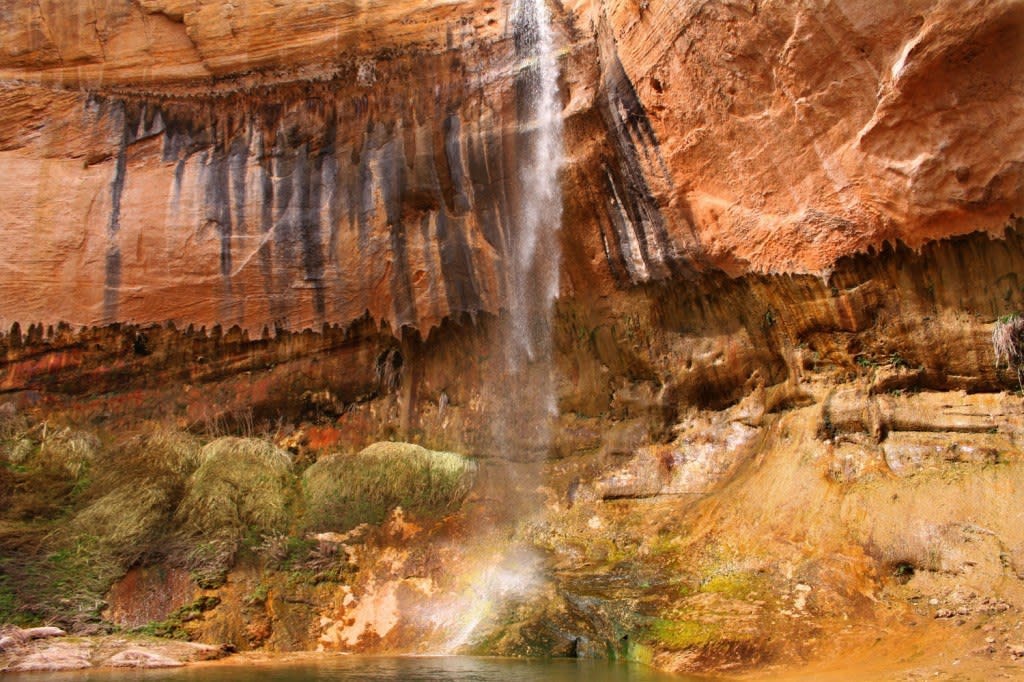 Upper Calf Creek Falls near Boulder Utah