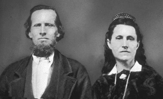 Ebenezer and Mary Bryce - Namesake for Bryce Canyon National Park