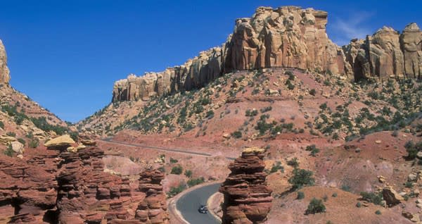 Burr Trail in Utah