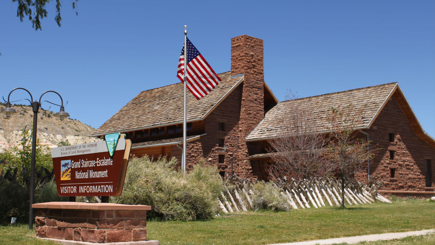 Visitor Center - Cannonville Utah