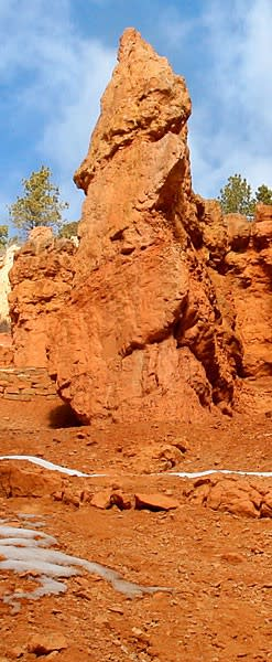 Erosion in Bryce Canyon