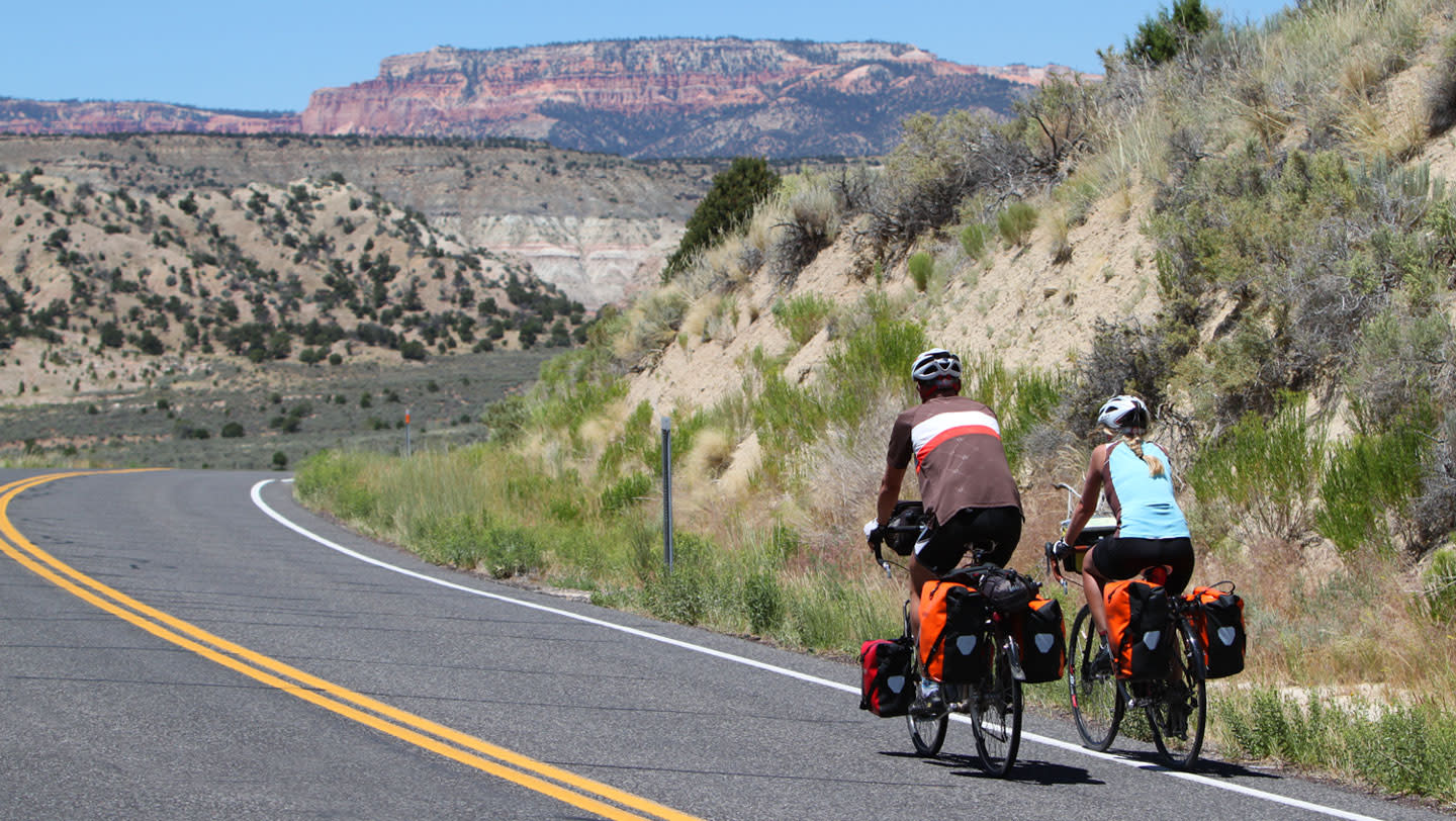 Cycling in Utah's Bryce Canyon Region