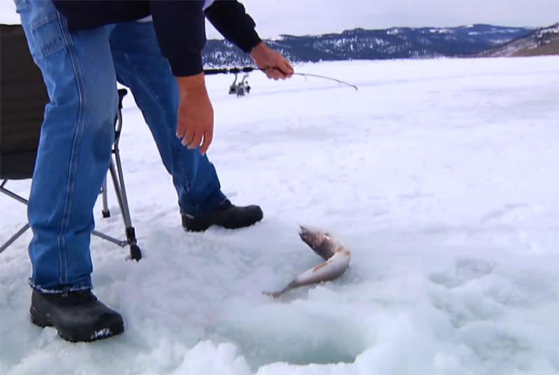 Utah Ice Fishing