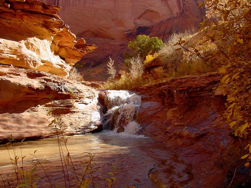 Coyote Gulch Slot Canyon