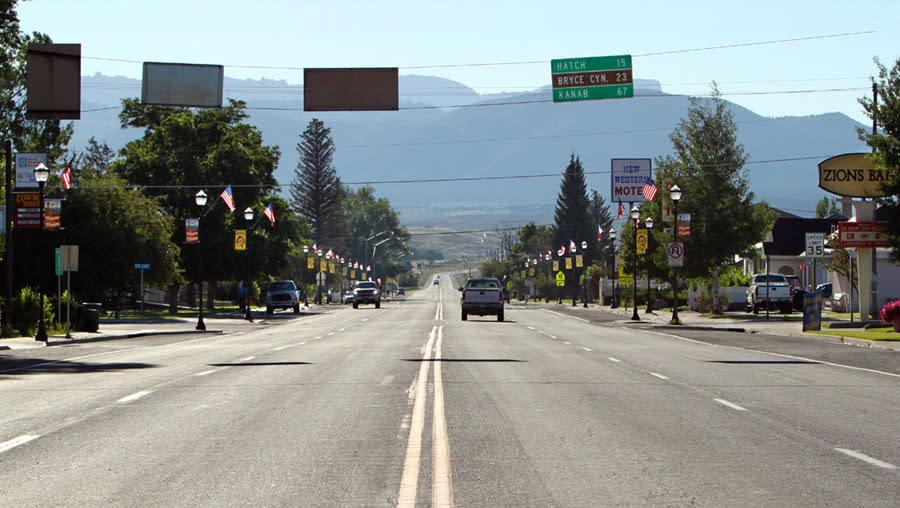 Panguitch Utah - Scenic Highway 89