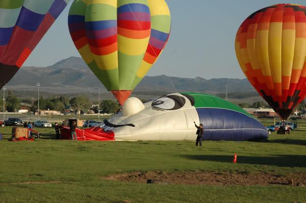 Panguitch Utah Balloon Rally