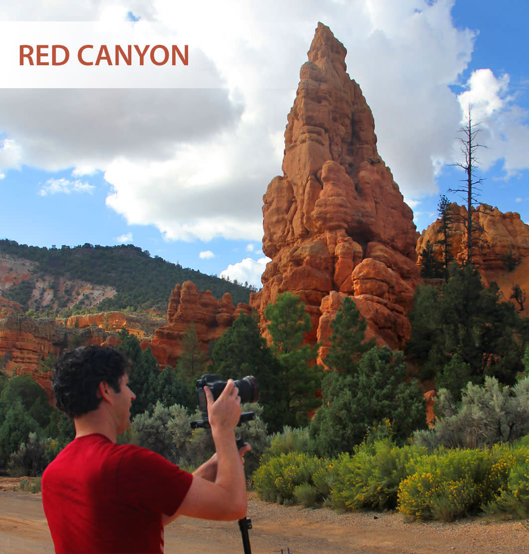 Red Canyon is an easy place to acquire great photos of Hoodoo formations.