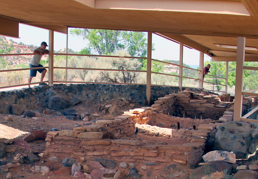 Anasazi Village Museum State Park