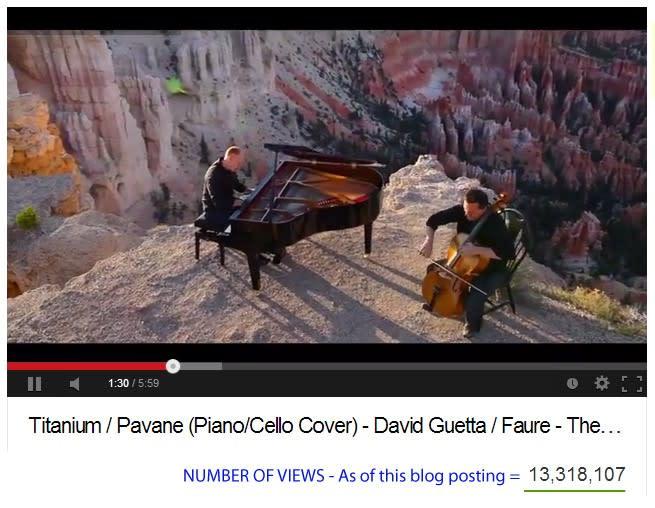 The Piano Guys Titanium / Pavane