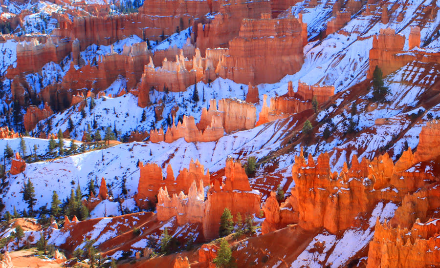 Hoodoos in Winter