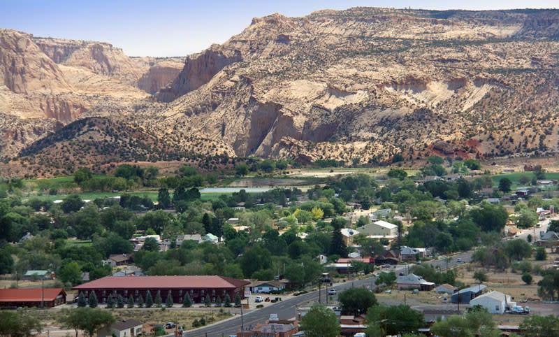 Escalante Utah River Canyon