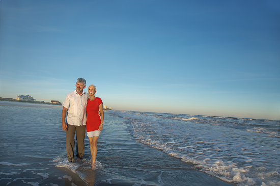 North Myrtle Beach romantic getaways for couples.