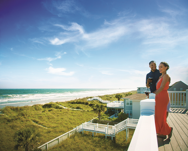 Book a romantic getaway to North Myrtle Beach.