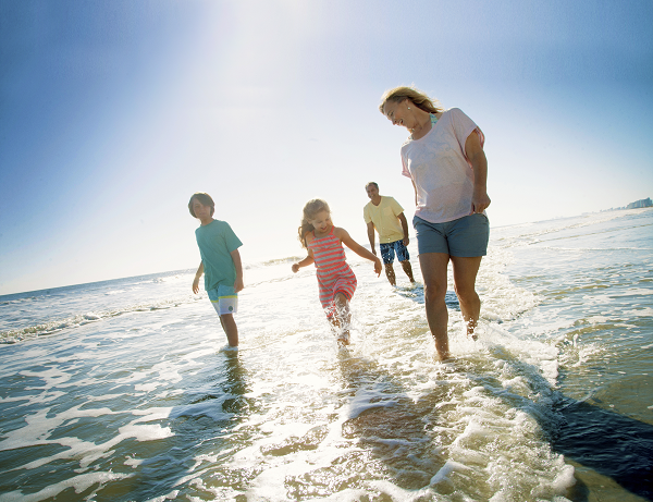 Take a family vacation to North Myrtle Beach.