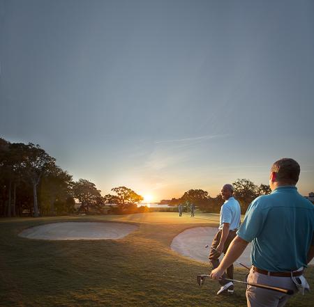 Plan a guys golf trip to North Myrtle Beach.