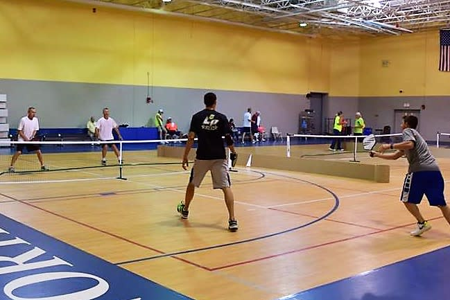 Play pickleball in North Myrtle Beach.