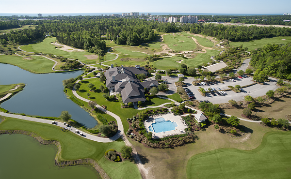Golf at courses designed by four legends at Barefoot Resort.