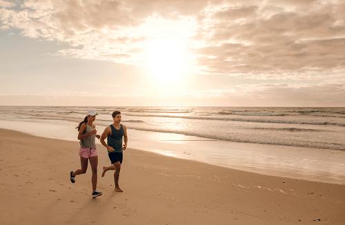 Enjoy scenic running routes in North Myrtle Beach