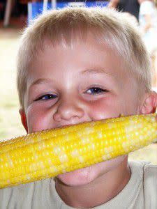 Delicious Corn on the Cob at the Tippecanoe County 4-H Fair!