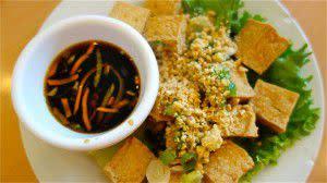 Crispy Tofu appetizer