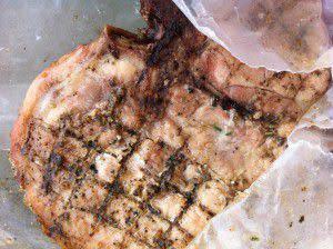 Herbed Pork Chop