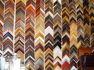 Check out the wall of frames!