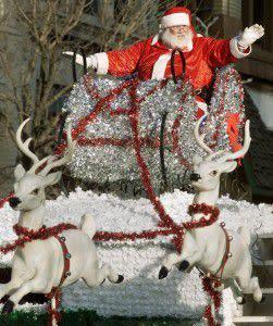 Santa at Christmas Parade