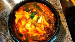 Tofu Stew with Kimchi