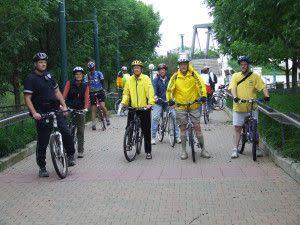 Photo taken from Bike to Work 2007!