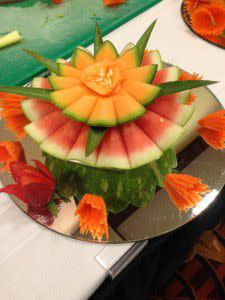 Beautifully created fruit platter!