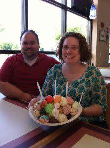 Ashley's Birthday - We tried every flavor!
