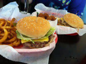 Triple XXX Burgers!