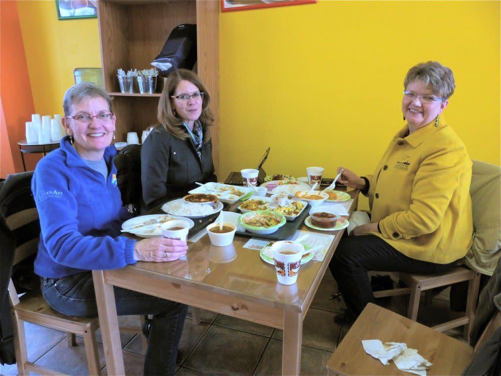 Dining Divas visit Shaukin
