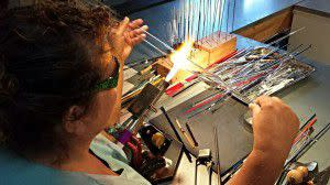 Sharon Owens, Inspired Fire, glass work!