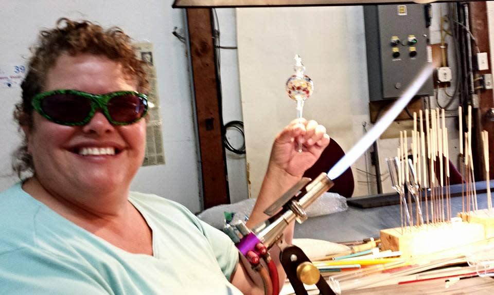 Sharon Owens, Inspired Fire, Glass Work