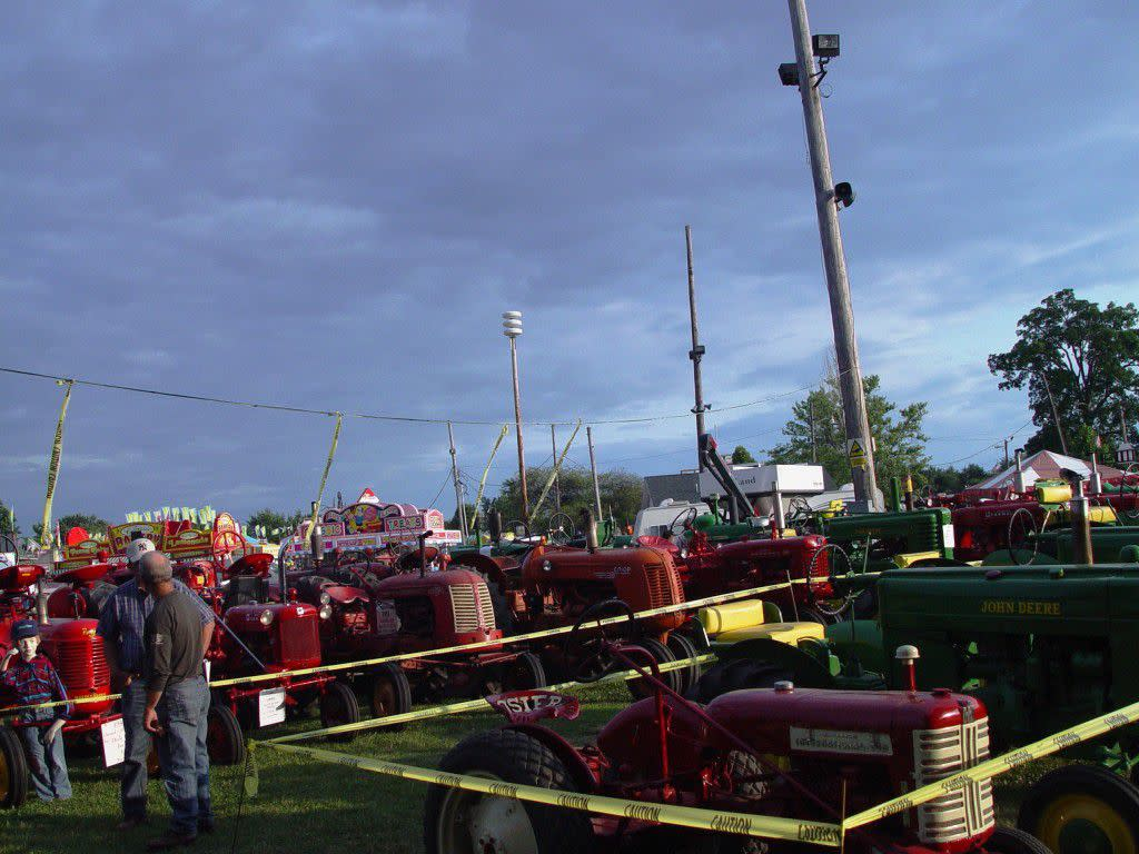 Tractors at County Fair, Deborah Arihood