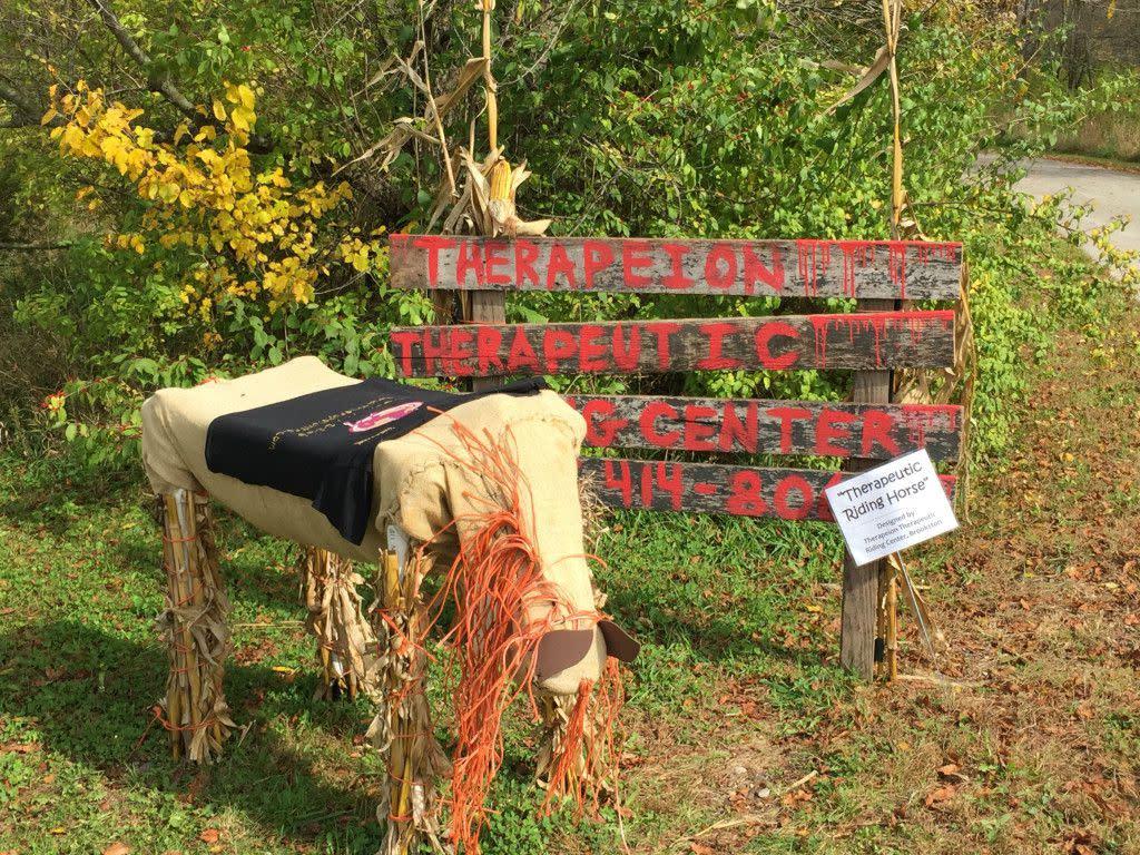 Prophetstown Scarecrows!