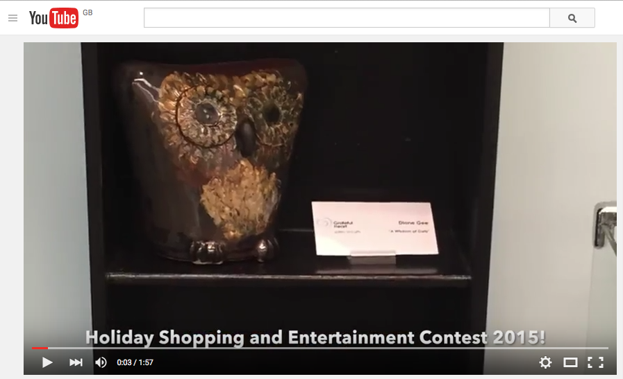 Click on this image to watch the Holiday Shopping and Entertainment Video!