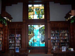 Indiana Room Stained Glass