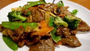 Pork stir fry Bevs meal