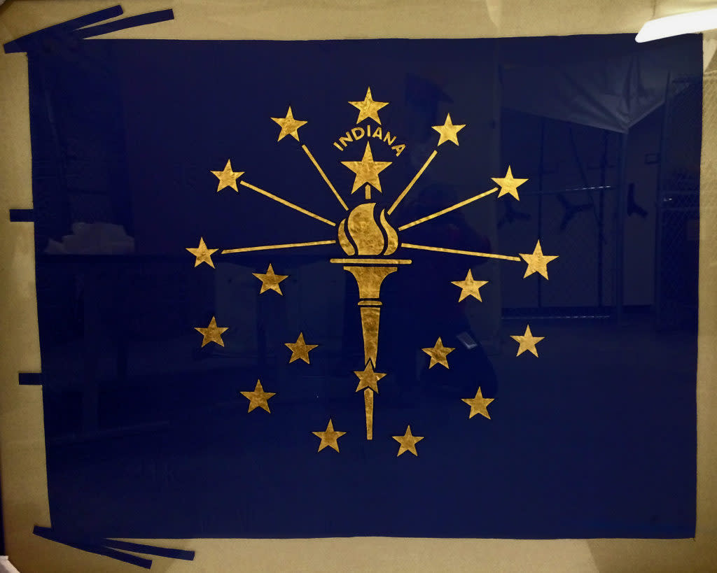 1st Indiana Flag